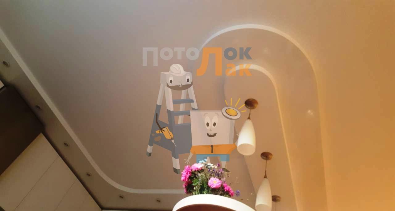 Натяжные потолки 12 кв. м в Кемерово  фото 8