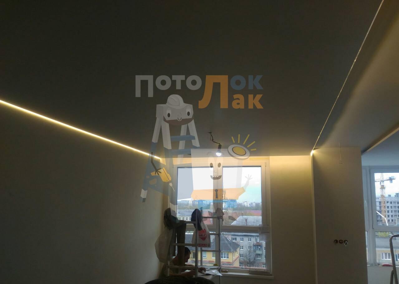 Натяжные потолки 20 кв. м в Кемерово фото 8