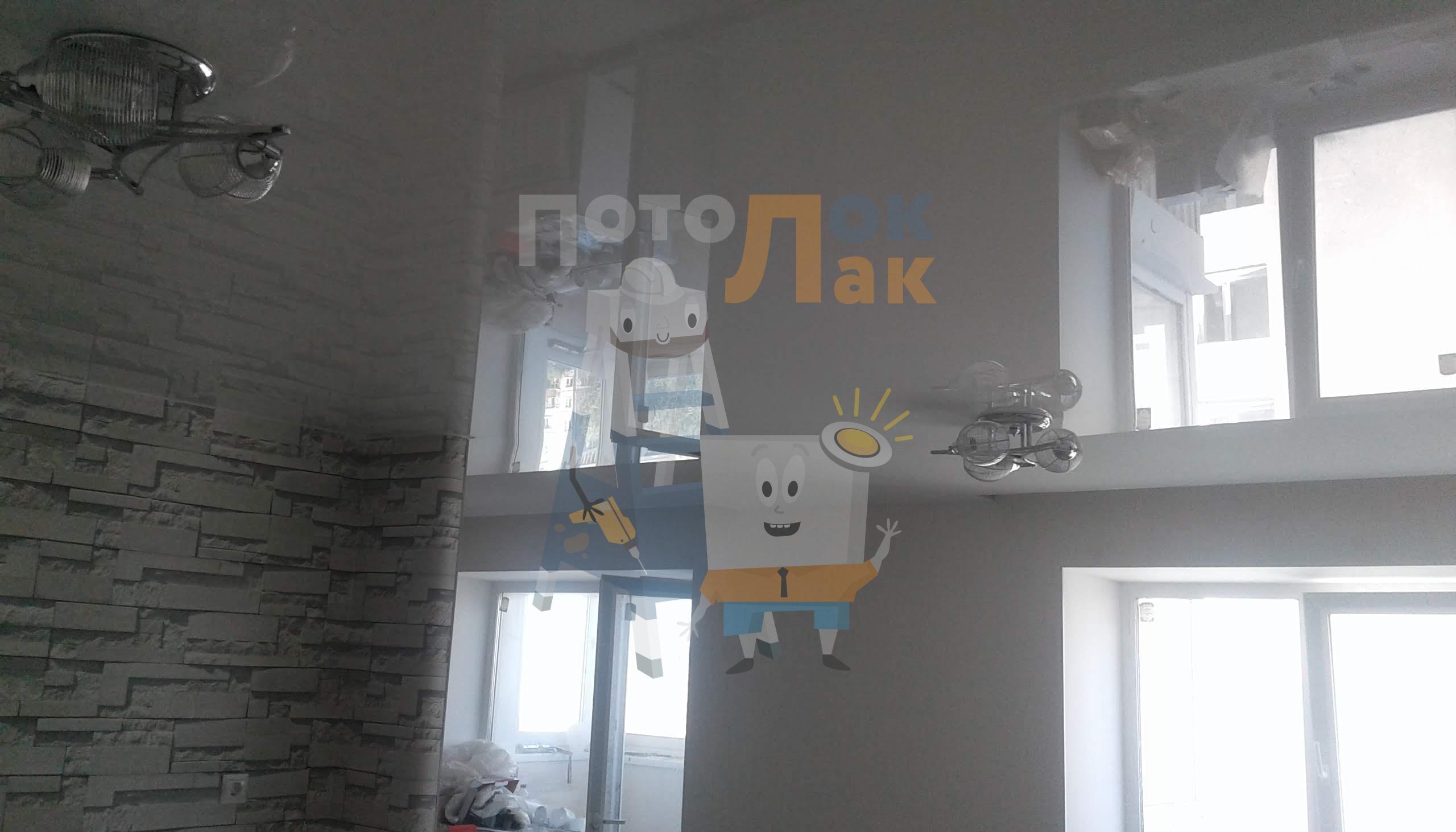 Натяжные потолки для зала в Кемерово фото 8
