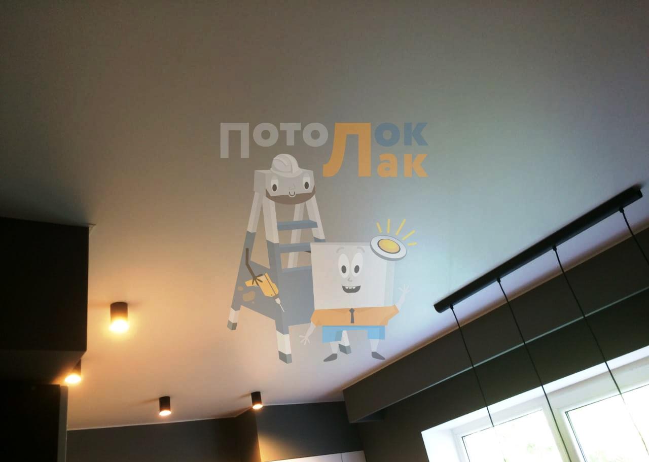 Натяжные потолки 19 кв. м в Кемерово фото 8