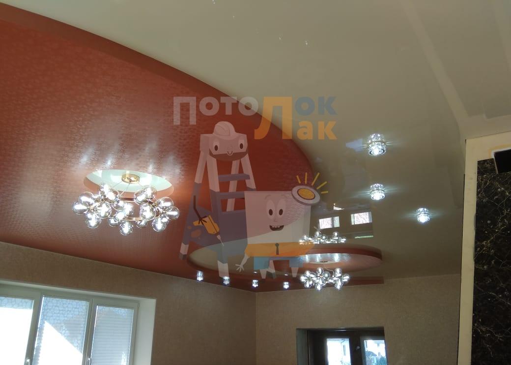 Натяжные потолки в квартиру-студию в Кемерово фото 8