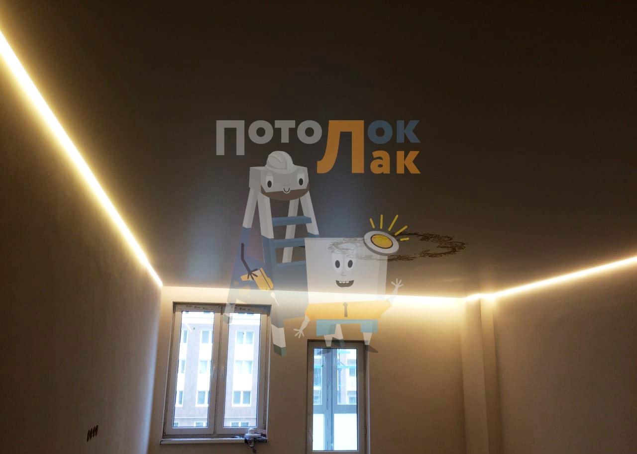 Натяжные потолки парящие в Кемерово фото 8