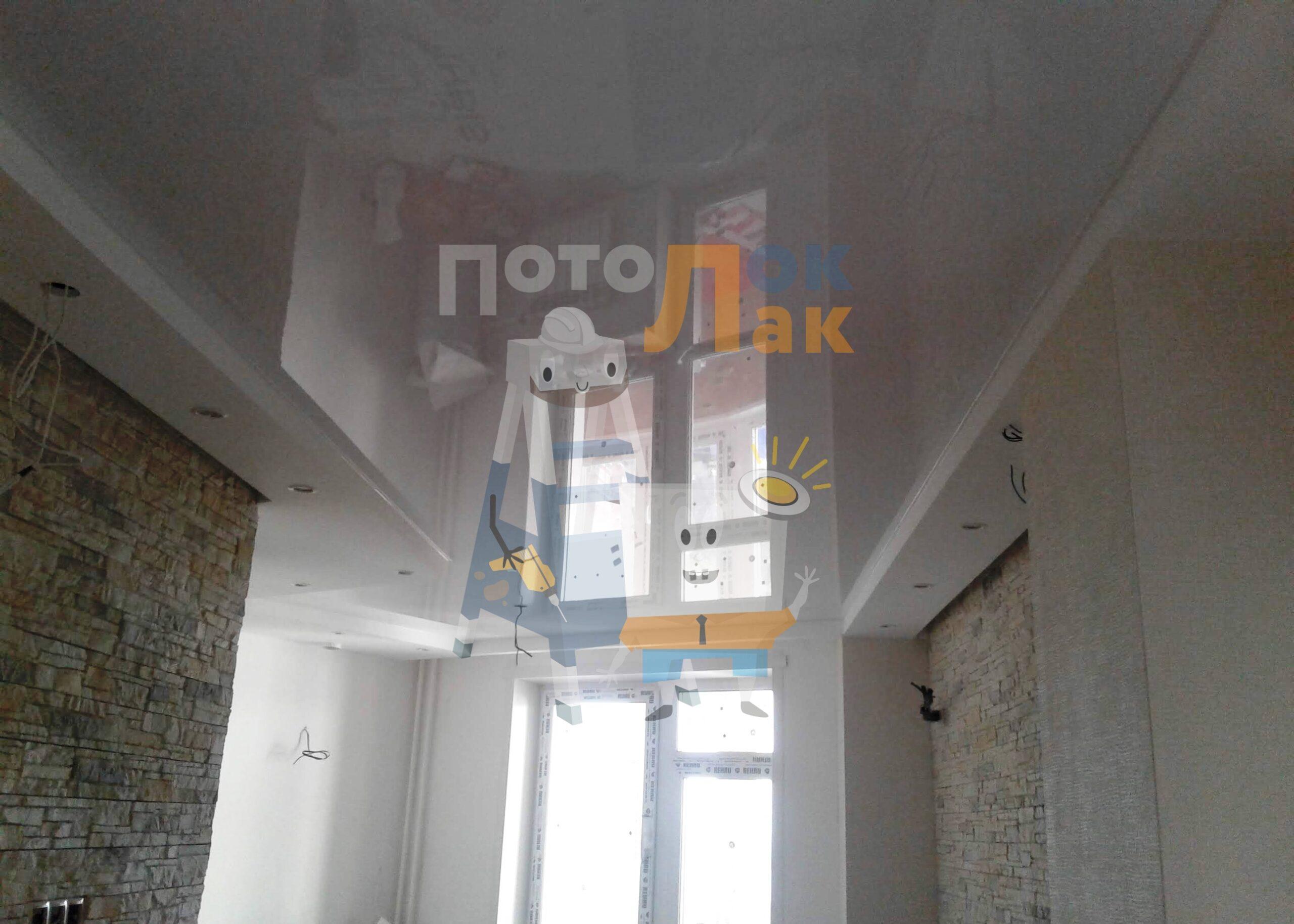 Натяжные потолки бесшовные в Кемерово фото 8