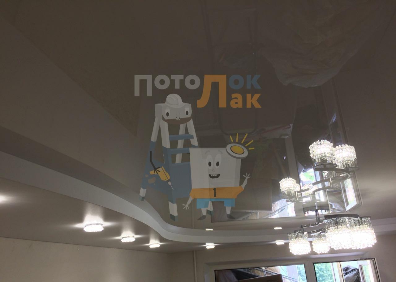 Натяжные потолки 18 кв. м. в Кемерово  фото 8